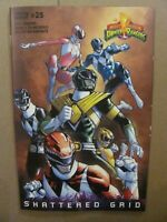 MIGHTY MORPHIN POWER RANGERS #25 UNLOCKABLE VARIANT COVER RAMOS 1ST PRINT NMT