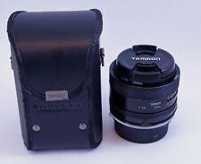 Tamron Adaptall 24mm f/2.5 Lens with Pentax/Ricoh Adaptall Adapter
