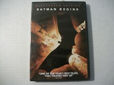 Batman Begins (Dvd, 2005, Widescreen) Christian Bale
