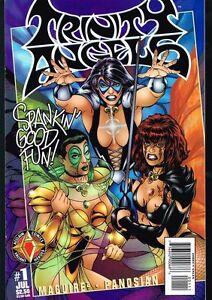 Trinity Angels # 1 NM+ (July 1997) Acclaim Comics Valiant Free Shipping!!