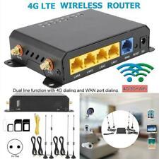 4G LTE MOBILE WI-FI WIRELESS ROUTER 300MBPS HOTSPOT MODEM ADATTATORE DI RETE SIM