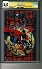 Spawn # 300 - NYCC Silver - CGC 9.0 WHITE Pages - SS5X Todd McFarlane