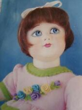 MOLDED FELT DOLL KIT TO MAKE BEAUTIFUL TODDLER 17 in.