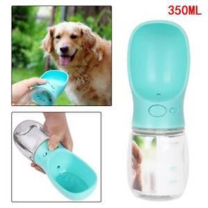 Hunde Katze Wasserflasche 350ml TragbareAntibakterielle Haustier Wasserflasche