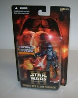 Star Wars ROTS Covert OPS Clone Trooper Exclusive Action Figure NOC