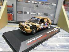 LANCIA Delta Integrale Rallye Madeira 1989 #3 Loubet Esso Nightv IXO Altaya 1:43