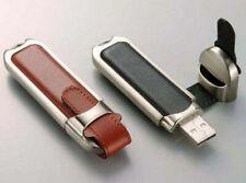 Pen Drive 4GB 8GB 16GB 32GB 64GB 128GB Metallic Leather Usb 2.0 Flash Memory Lot