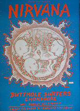 Nirvana Poster Butthole Surfers Oakland Col Original Bgp90 Harry Rossit