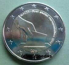Malta 2 Euro Gedenkmünze 2011 Wahl der 1. Abgeordneten commemorative coin