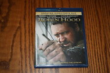 Robin Hood Blu-ray Disc, 2010, 2-Disc Set, Special Edition Brand New