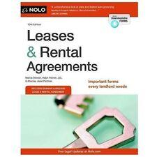 Leases & Rental Agreements by Stewart, Marcia, Warner, Ralph, Portman, Janet