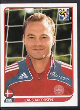 Panini Football Sticker - 2010 World Cup - No 357 - Denmark - Lars Jacobsen