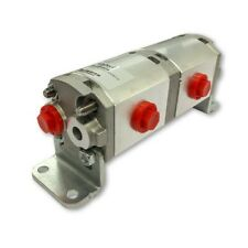 Geared Hydraulic Flow Divider 2 Way Valve 25ccrev Without Centre Inlet