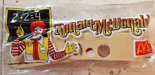 Vintage McDonald's Happy Meal Toy 1984 School Supplies In Pencil Bag (New)