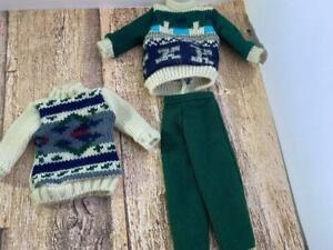 Ken 1995 Barbie Fashion Avenue 14679 Sweater & Pants 3 Pc.