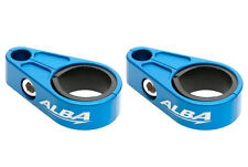 Can Am DS 450 DS 650   Brake Line Clamps Alba Racing  Blue  BLC-002-L