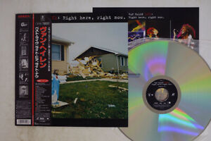 Van Halen Live: Right Here, Right Now Warner Reprise Video WPLP9096 Japan OBI LD