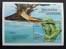 Maldives Mysteries Of The Universe Atlantis 1992 Volcano Bust Of Plato (ms) MNH
