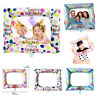 Happy Birthday Inflatable Selfie Photo Frame Foil Balloon Booth Party Decoration