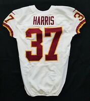 #37 Harris of Washington Redskins NFL Locker Room Game Issued Jersey