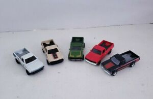 Hot Wheels Lot of 5 Datsun 620 Tan Black 9 pack Exclusive White Red Green Loose