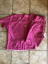 Iguana Med Scrub Set Xs Pink