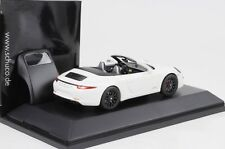 2014 Porsche 911 991 Carrera GTS Cabrio Cabriolet + Dach weiss 1:43 Schuco