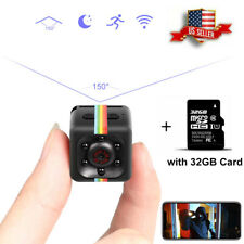 Mini CAM Security Camera HD 1080P Hidden Video Motion Detection + 32GB SD Card