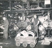 PARIS c. 1950 - Imprimerie Réaumur Rotative Matériel Industriel - Div 4840