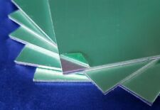 2mm Aluminium Sheet Plate 100mm x 100mm square Mill Finish - Peel Off Coated