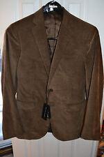 NWT $1395 Ralph Lauren Black Label Nigel Corduroy Blazer Jacket - Sz 38 R