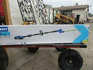 "New, Bare Tool, Kobalt 20"" Cordless Pole Hedge Trimmer- 40V Max"