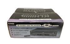 KLH 5 Disc CD Player Model DA-1402 Compact Disc Changer New Open Box