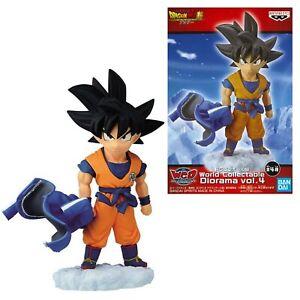 Dragon Ball Super Broly WCD Mini Figure Diorama vol 4 Goku Originale Banpresto