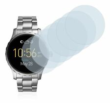 Fossil Q Marshal  Smart Watch,  6x Transparent ULTRA Clear Screen Protector