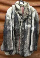 Pelzjacke beige schwarz  Pelzmantel Pelz Kurzmantel Mantel Jacke real fur