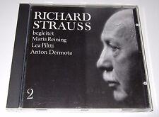 Richard Strauss begleitet Maria Reining, Lea Piltti, Anton Dermota (CD, 1991)