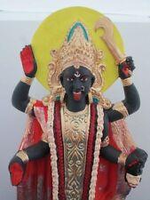 Kali Statue Hindu Goddess Kali Standing Large Handpainted Statue Figurine #KLG