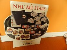 """2001 NHL ALL STARS Canada post sign for Cards,Coins,stamps & photos 24"""" x 22"""""""