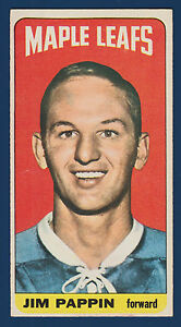 JIM PAPPIN 64-65 TOPPS TALLBOYS 1964-65 NO 64 EXMINT  10223
