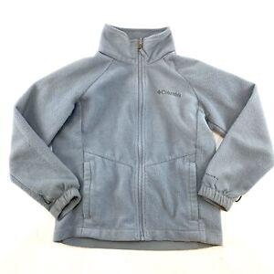 COLUMBIA Unisex Size Small Grey Omni-Heat Fleece Interchange Jacket