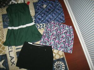 PAGE&TUTTLE or UNDER ARMOUR Womens Golf Skorts, Size Medium/Size 8 US,MSRP$59