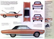 1963 Chrysler Gas Turbine Experimental Car Info/Spec/photo 23x8