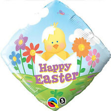 """EASTER PARTY SUPPLIES BALLOON 18"""" EASTER BABY CHICK QUALATEX FOIL BALLOON"""