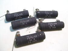 5PCS VISHAY HEI FSTL-25 0.36 OHM RESISTORS 25W 10% P3582