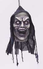 Haunted House Halloween SCREAMING DEMON HEAD PROP  Poly Foam BODY PARTS Cemetery