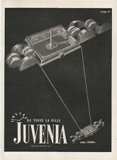 Publicité Advertising 1950 montre  JUVENIA Print AD
