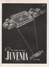 Publicité Advertising 1950 montre  JUVENIA Print AD