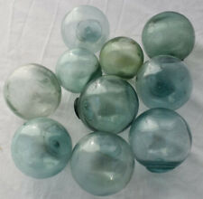 """Vintage Japanese Glass Fishing Floats, 2"""", Lot of 10, Free Shipping"""