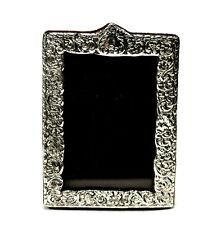 Vintage Small Ornate Sterling Silver Picture Frame